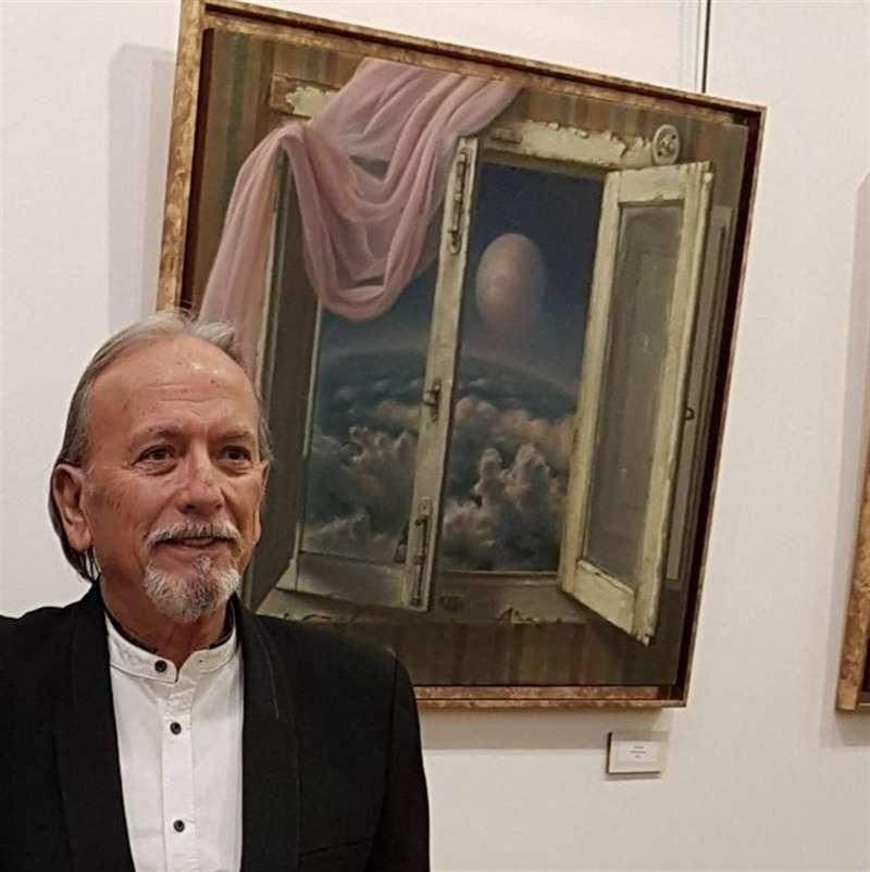Una imagen del pintor tomada de su portal de Facebook. EFE
