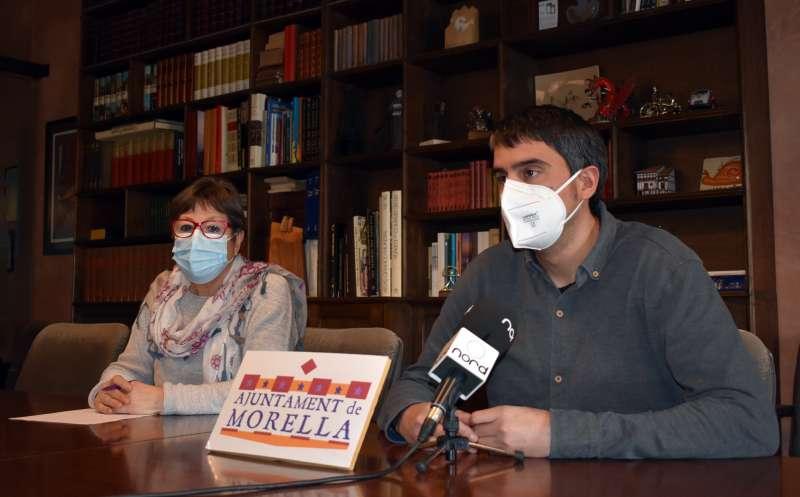 Rhamsés Ripollés y Malú Blasco/EPDA