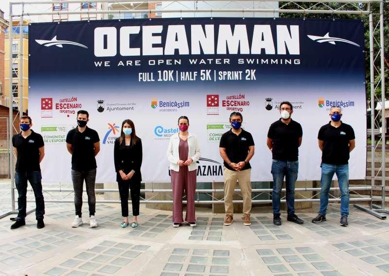 Presentación de la prueba Oceanman 2021.