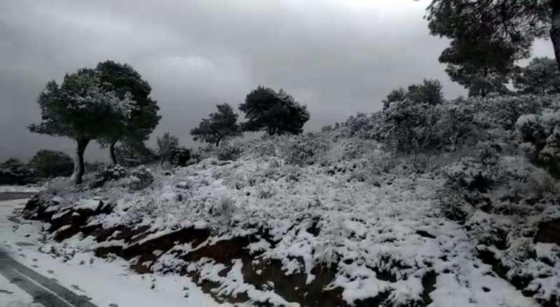 El Garbí nevado