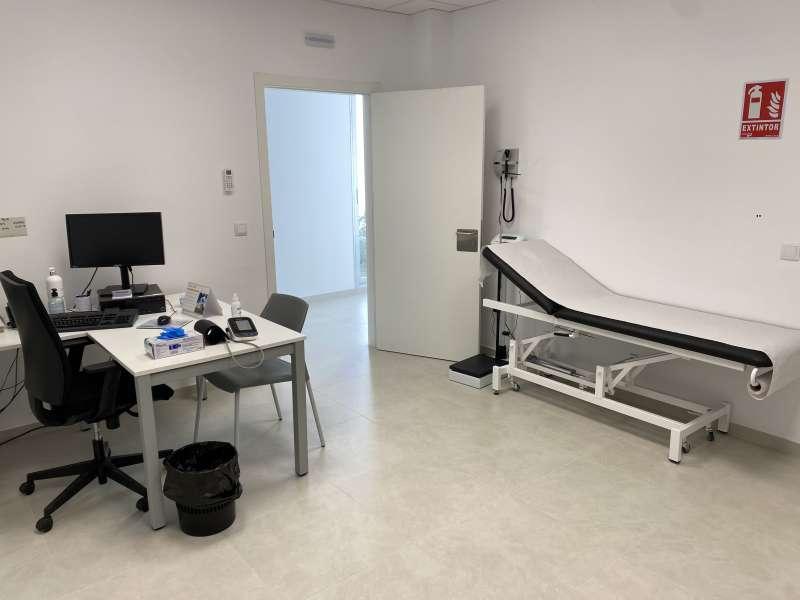 Consultorio de pediatría en Massalfassar. EPDA