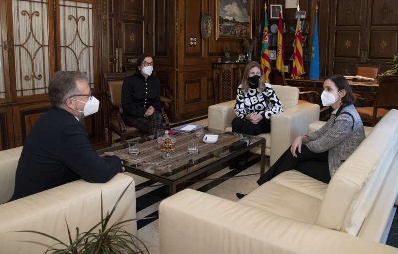 Ministra, Presidente, Subdelegada y Alcaldesa de Castellón