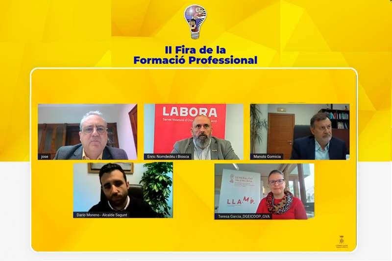 Inauguración de la Feria de manera online / EPDA