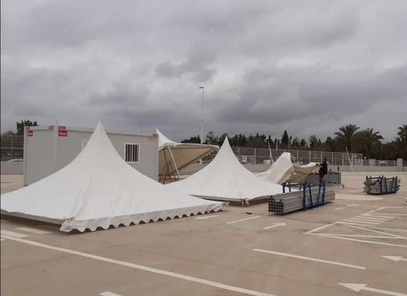 Lugar en el que se ha gastado el Ayuntamiento de Catarroja 30.000 euros por no haberse coordinado con la Generalitat. FOTO FB JESÚS MONZÓ