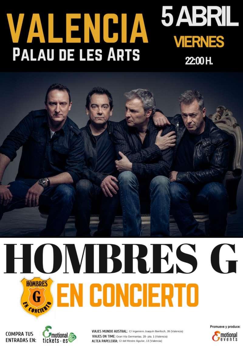 Cartel del concierto