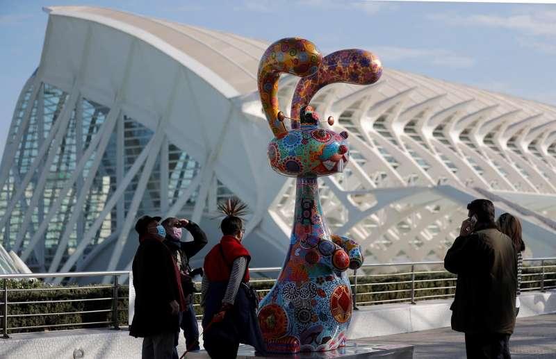 La Ciudad de las Artes y las Ciencias, con la exposición de libre acceso
