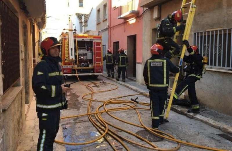 Incendio en una vivienda / Imágen de archivo EPDA