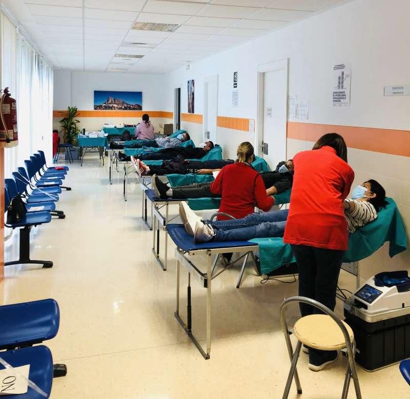 Donación de sangre/EPDA