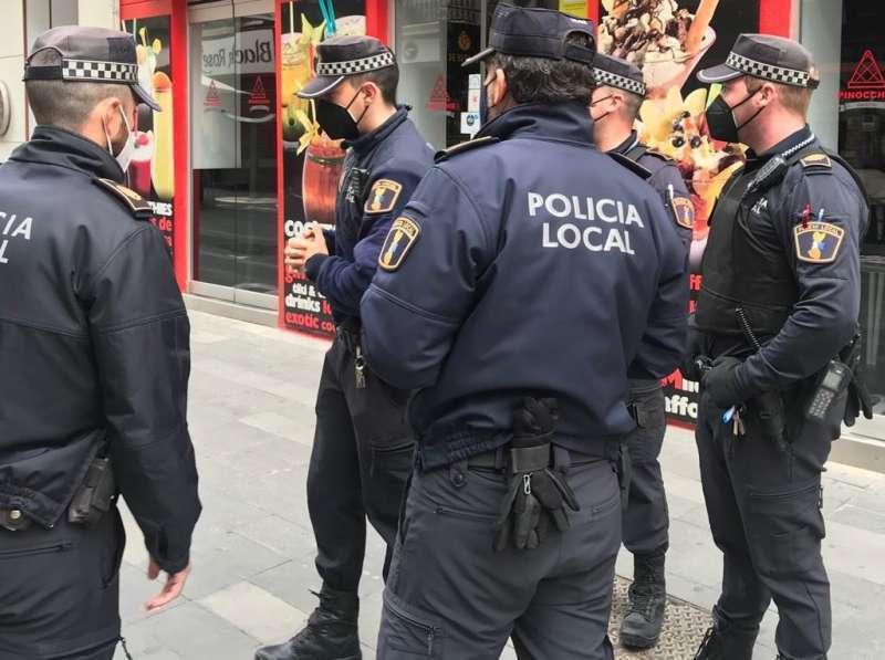 Imagen de archivo de la Policía Local. / EPDA