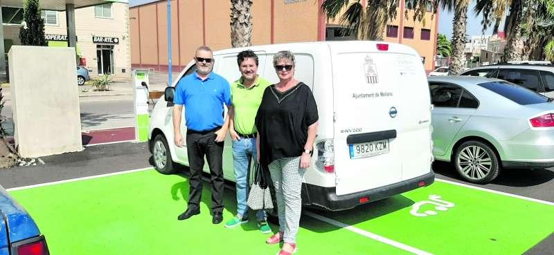 Presentació de la furgoneta en Meliana. EPDA