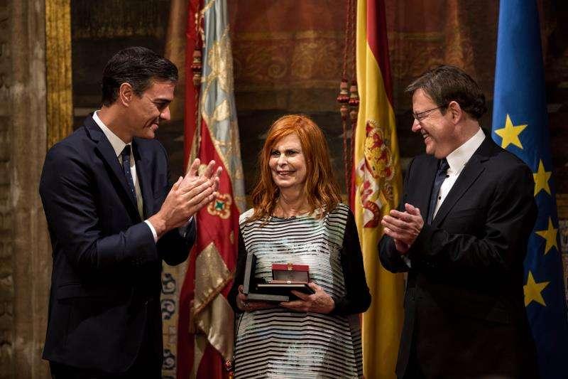 La exministra de Cultura Carmen Alborch EFE/Archivo