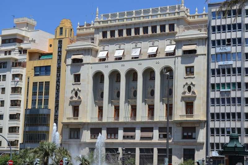 Edificio del Ateneo Mercantil de València