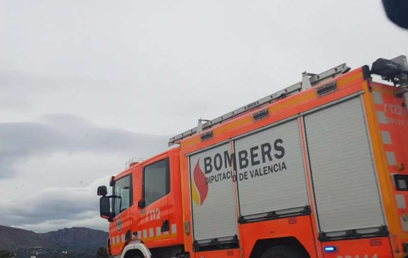 Imagen de archivo de un camión de bomberos. EPDA