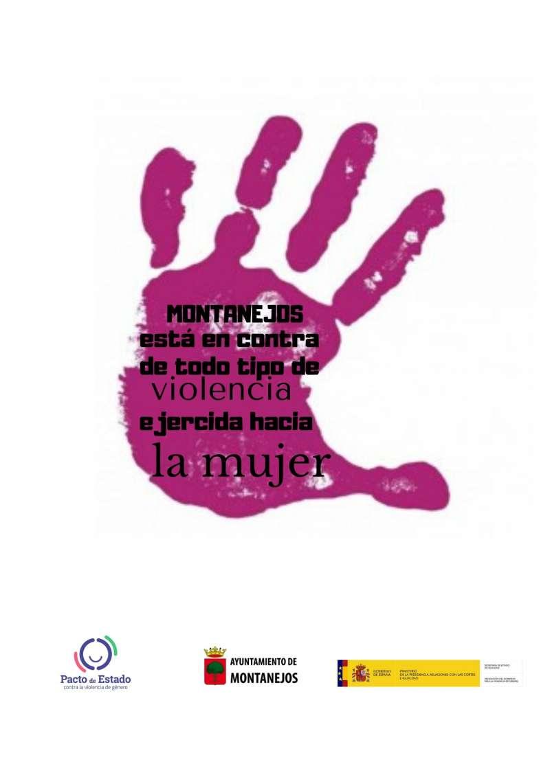 Imagen utilizada para la campaña contra la violencia de género en Montanejos. -EPDA