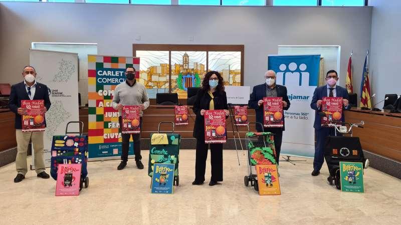 Presentació campanya comerç local Carlet./EPDA