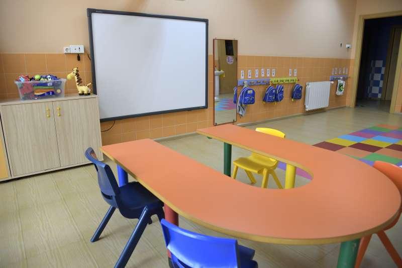 Una aula de Paiporta. / EPDA