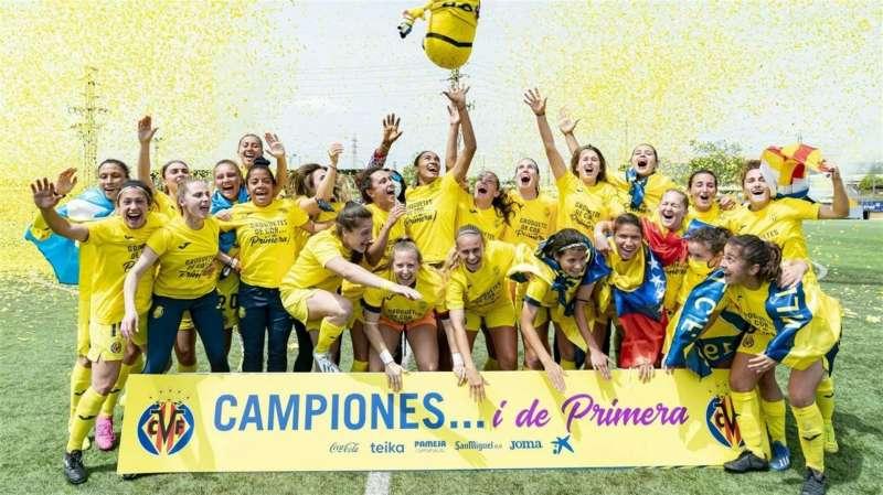 El Villarreal femenino / EFE