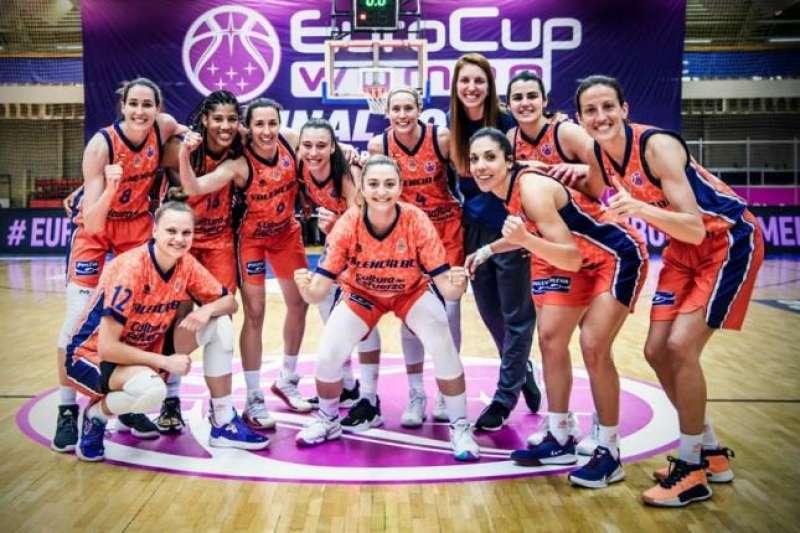 Victòria del Valencia Basket. FEB / EPDA