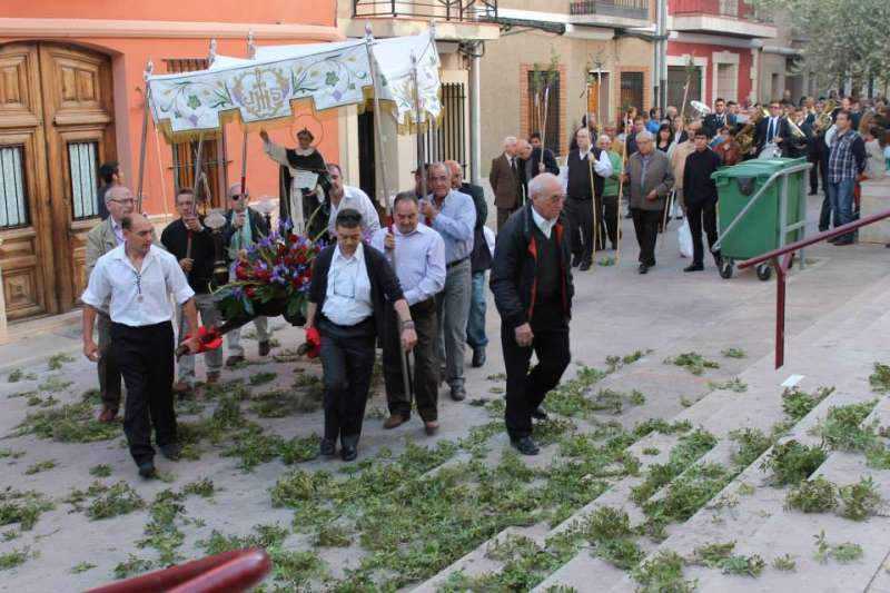 Procesión de Sant Vicent Ferrer en Algímia. EPDA