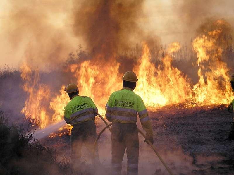 Incendio, imagen de archivo. EPDA.