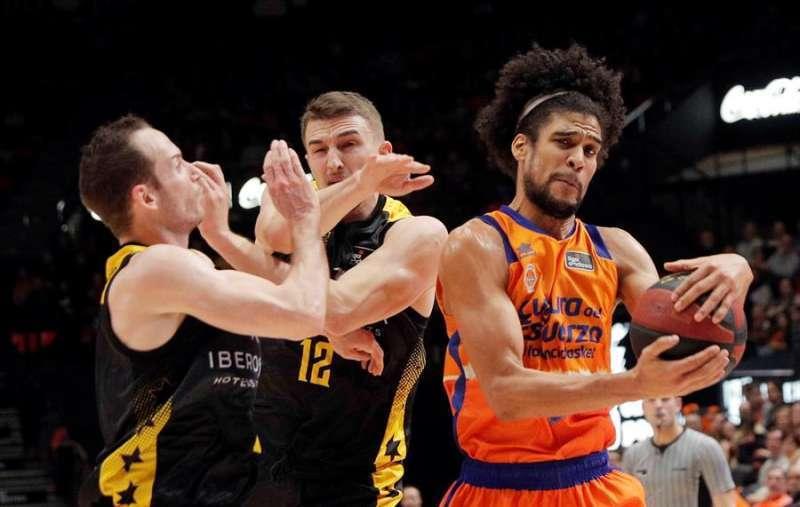 Jugador del Valencia Basket. EPDA