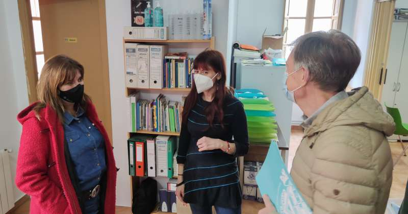 Visita de Mary Carmen Riberra a Hijas de la Caridad/EPDA