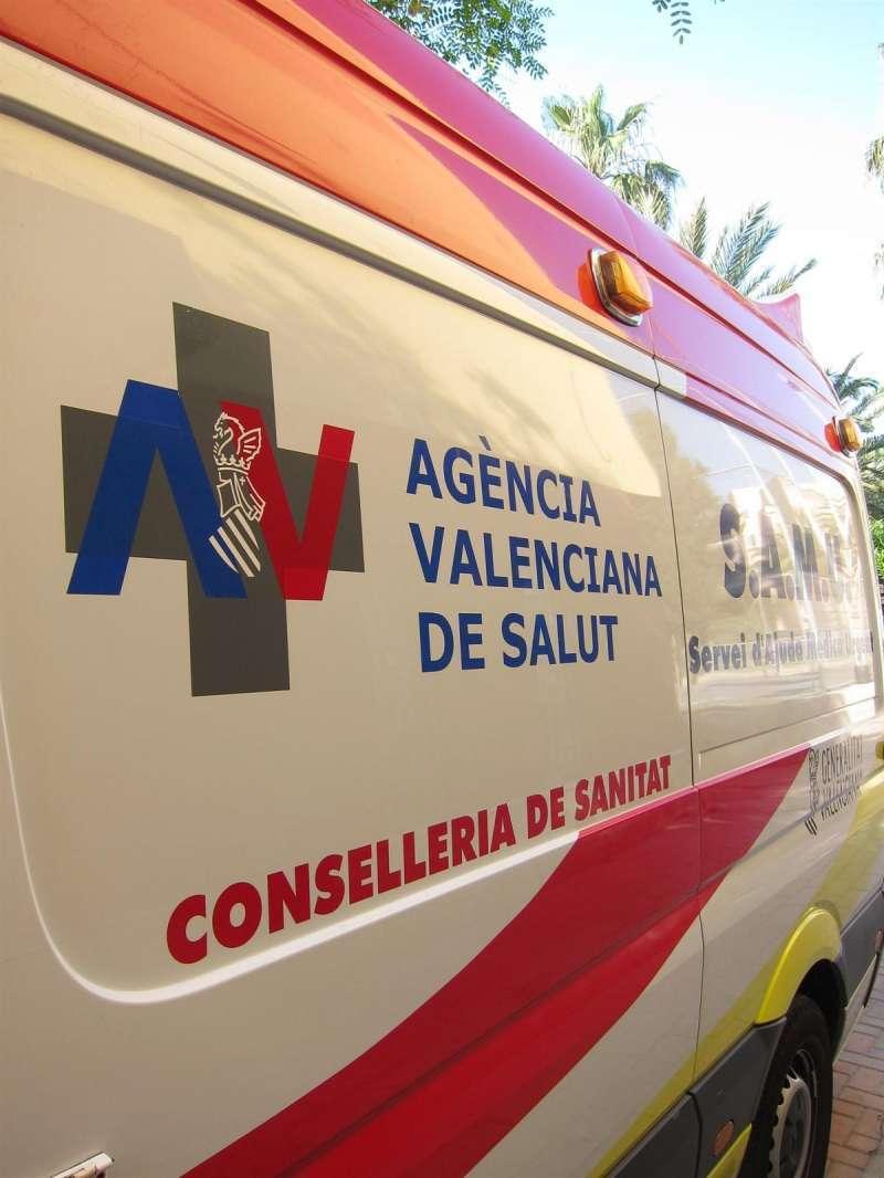 Ambulancia SAMU. EPDA.