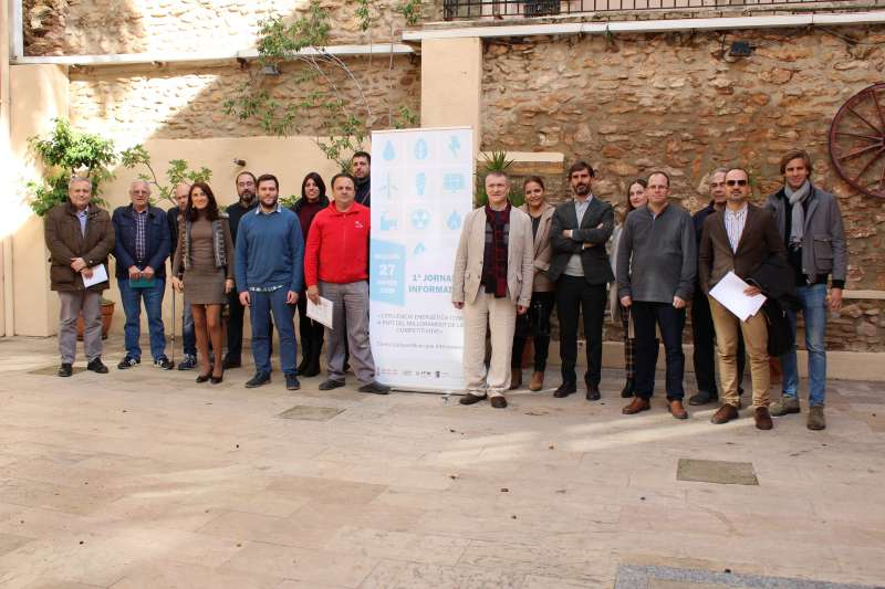 Jornada sobre eficiencia energética en Almàssera. EPDA