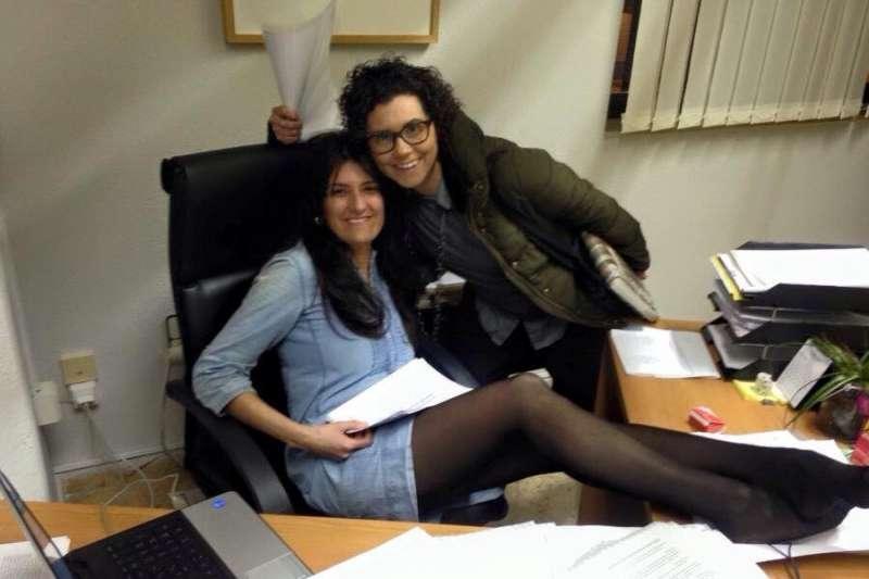 Beatriz Jiménez en una foto difundida por el PP de Paiporta. EPDA