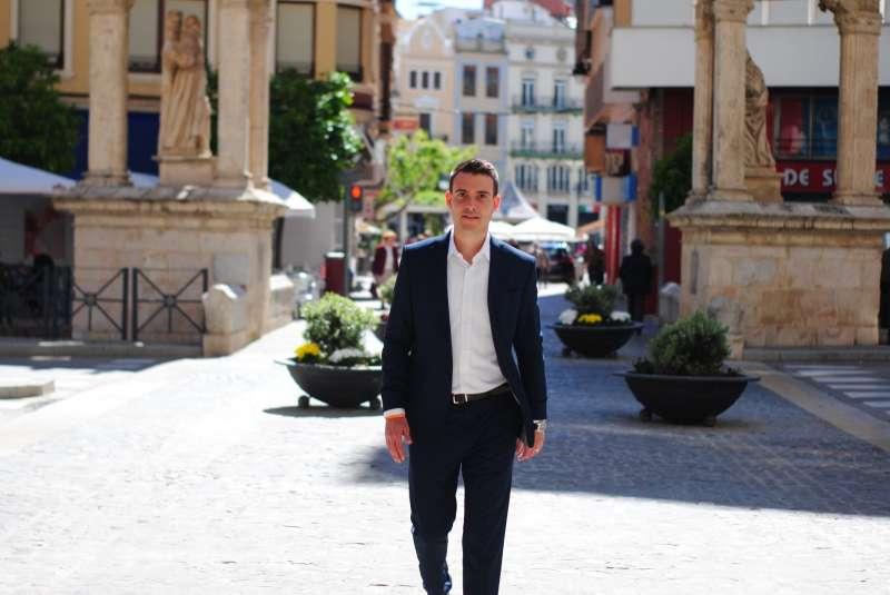 Miguel Vidal, portavoz de Cs