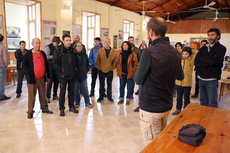 Una de les activitats a La Costera de Puçol. EPDA