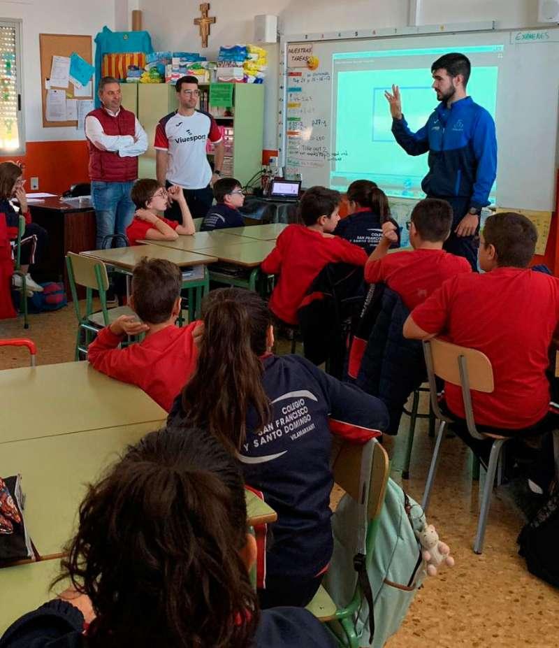 Els joves del col·legi San Francisco i Santo Domingo han disfrutat de l