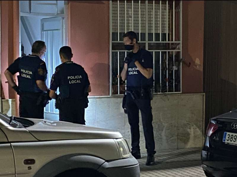 Policía Local de Sueca./EPDA