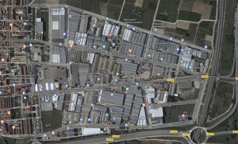Zona industrial de Alcàsser. EPDA