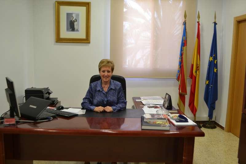 Luisa Salvador, alcaldesa del Puig, en una imagen de archivo. / epda