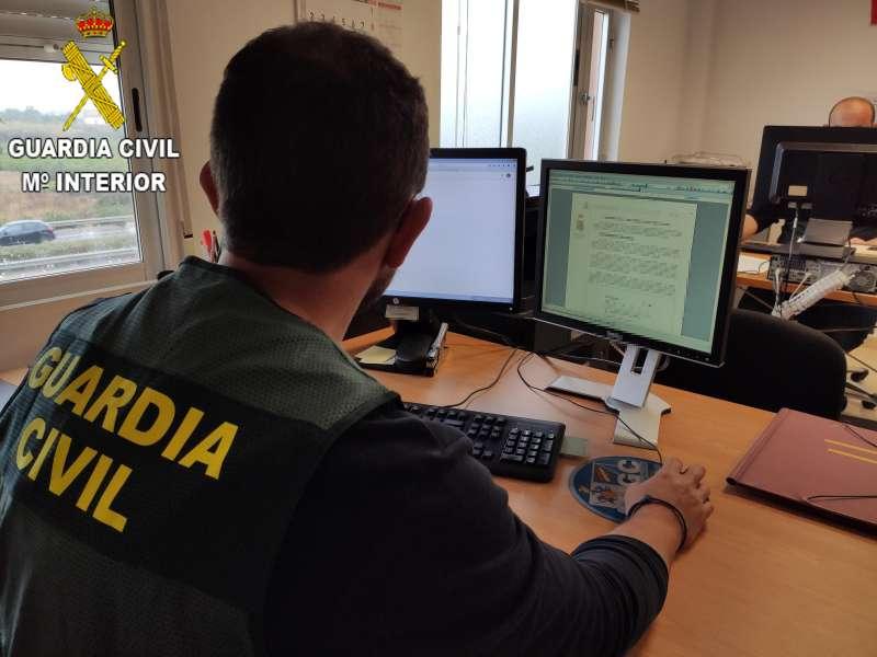 La Guardia Civil investiga el caso. / EPDA
