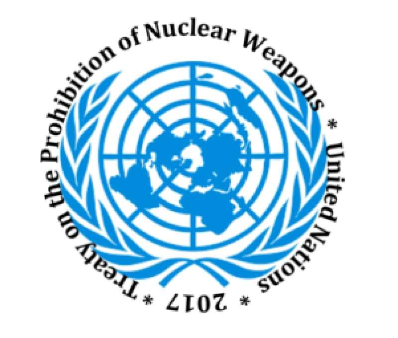 Tratado de Prohibición de Armas Nucleares de las Naciones Unidas el 2017.