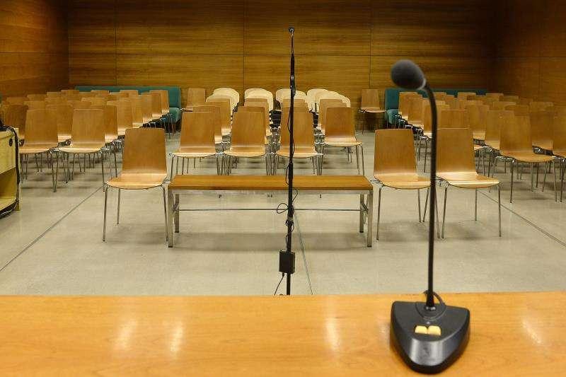 Vista de una sala de celebración de juicios. EFE/Archivo