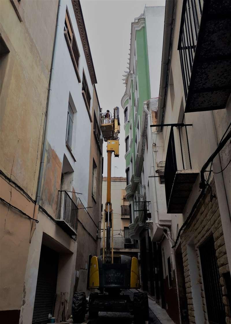 Rehabilitación de fachadas en el casco histórico de Utiel