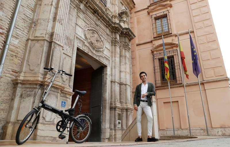 El director del Museo de Bellas Artes de València, Pablo González Tornel. EFE/Manuel Bruque