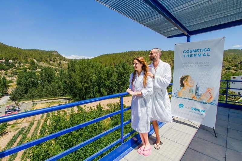 El balneario de Montanejos es uno de sus grandes atractivos turísticos
