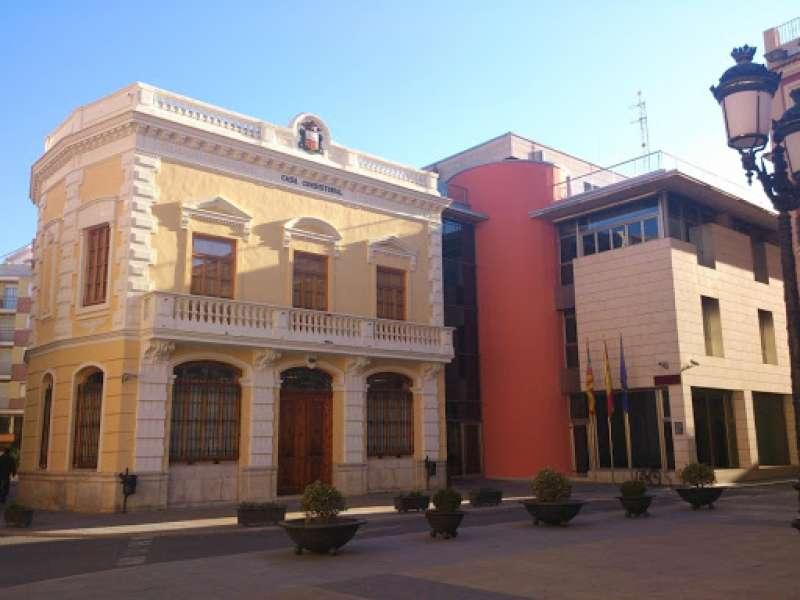 Ayuntamiento Algemesí./EPDA