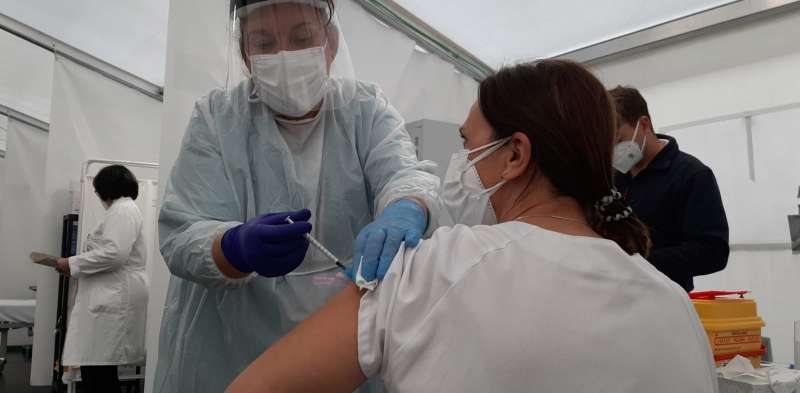 Vacunación. Foto: Archivo