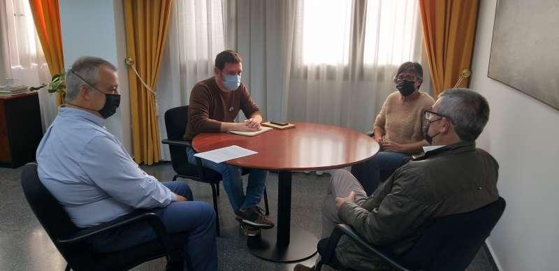 Reunión entre Diputación y Ayuntamiento de Viver