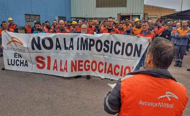 El Comité de Empresa de Arcelormittal en Sagunto se manifestará debido a