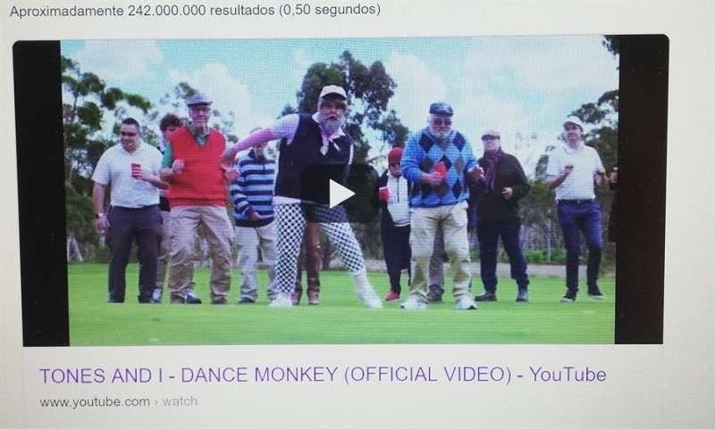 Una imagen del vídeo oficial de