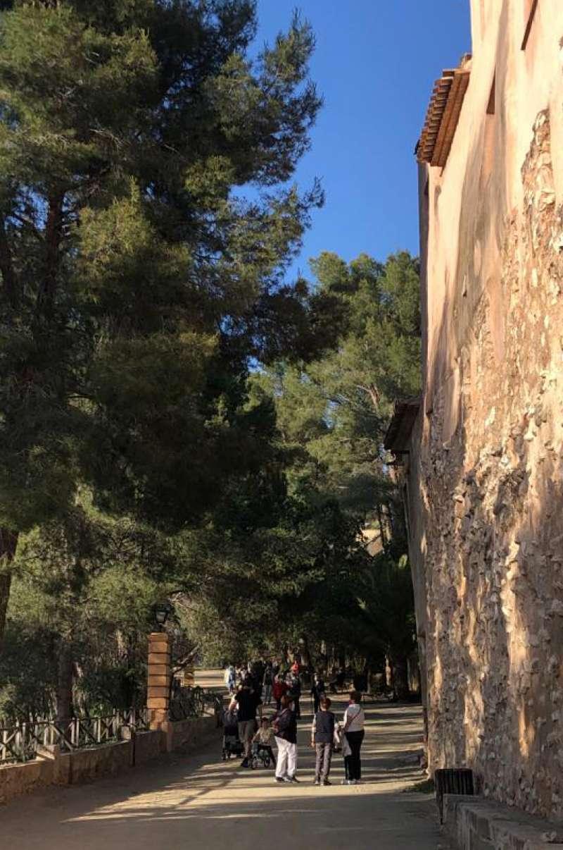 Paseo de Sopeña. Foto: MC. Calpe