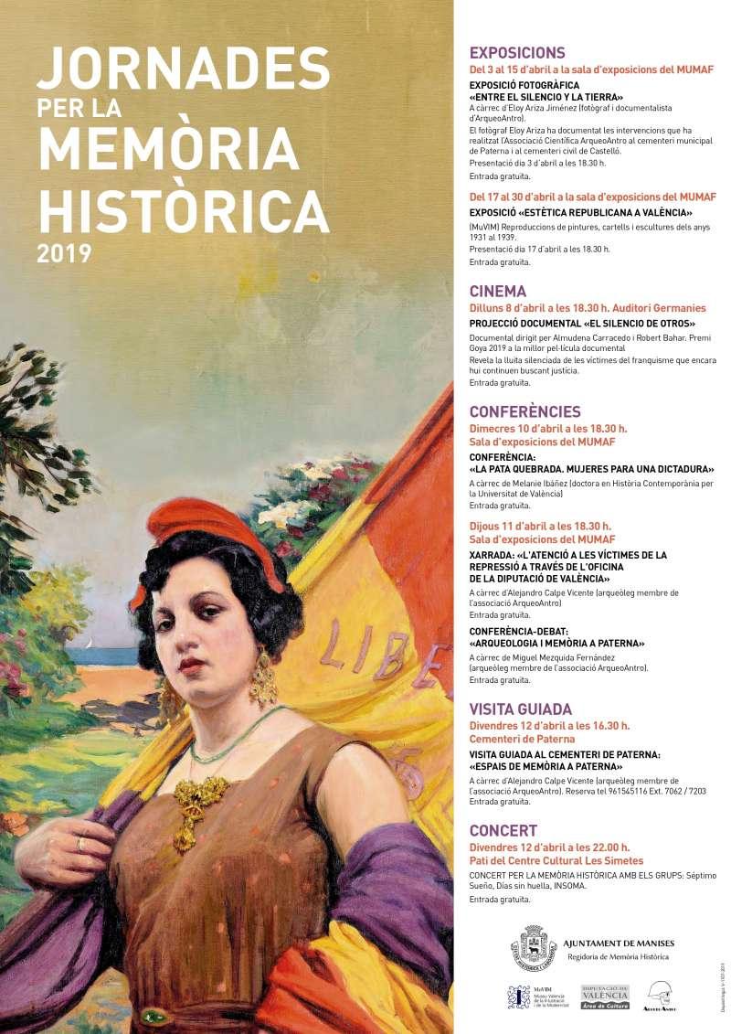 Cartel de las Jornadas de Memoria Histórica