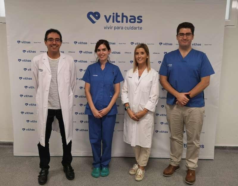 Miguel Angel Mollar, Clara Rodríguez, Paula March y Josep Esteve