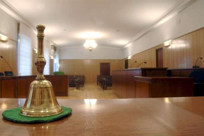 Una sala de un juzgado. EFE/Nacho Gallego/Archivo